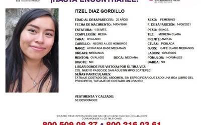 Localizan a Itzel sin vida tras varios días de desaparecida en Zumpango -  El Sol de Toluca   Noticias Locales, Policiacas, sobre México, Edomex y el  Mundo