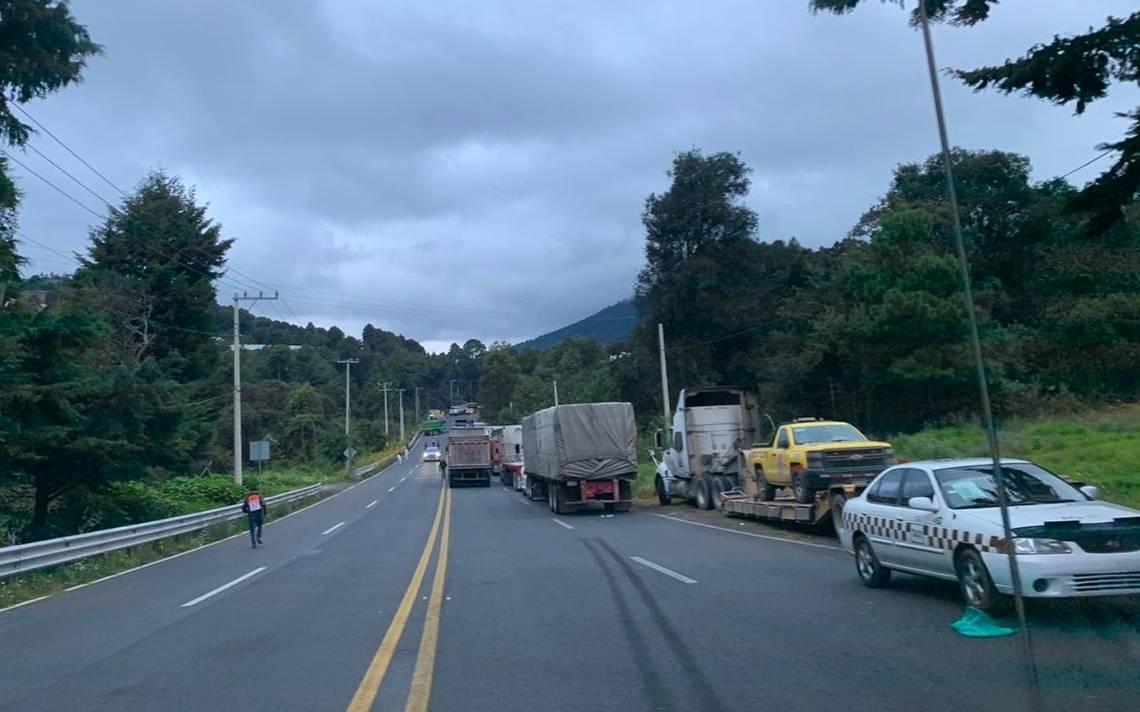 Continúa cerrada la Tenancingo-Toluca por pobladores de San Pedro Zictepec - El Sol de Toluca