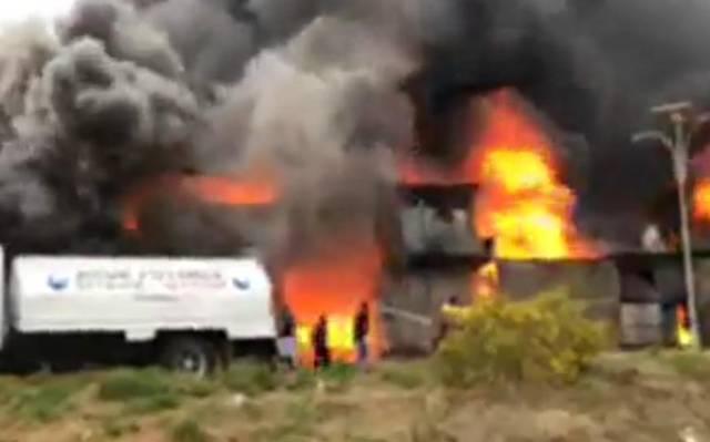 64b87edfd34 Se registra incendio de fábrica de colchones en Ocoyoacac – El ...