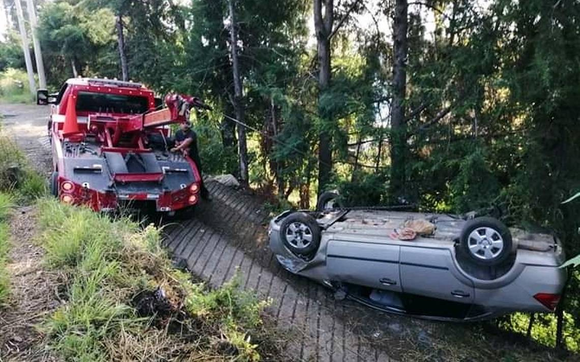 Se registra accidente en la carretera Toluca-Tenancingo - El Sol de Toluca