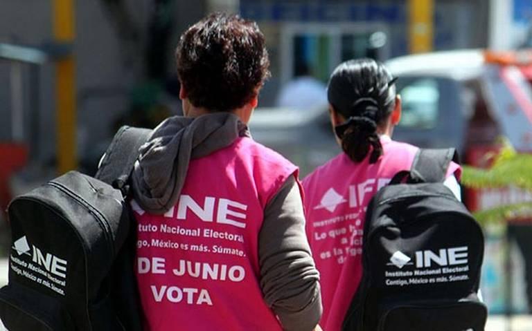 Miércoles último Día Para Tramitar Credencial De Elector