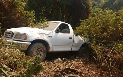 Cae camioneta a un barranco en Zacualpan - El Sol de Toluca